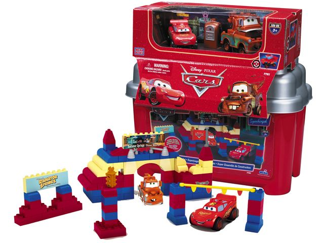 Lees Meer... : Disney Cars Mega Bloks super bouw set